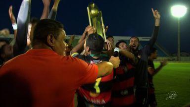 Guarani de Juazeiro empata e leva o título da Copa Fares Lopes - Guaraju garantiu vaga na Copa do Brasil 2017.