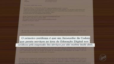 Mensagens entre presos na Sevandija mostra que Coderp teria sofrido calote da prefeitura - Esquema mascarado pela Coderp escondia o problema do Tribunal de Contas do Estado
