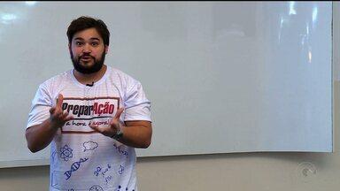 Professor de Inglês dá dicas para o Enem - A dica é sobre estratégias de leitura e gramática.