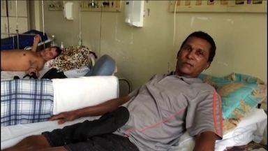 Escândalo das próteses no DF tem nova denúncia - Pacientes do DF sofrem com a falta de próteses e e também com a falta de médicos.
