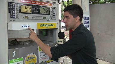 Preço do etanol aumenta nos postos de combustíveis de Maringá - A diferença de preço de um posto para outro pode chegar a 30 centavos