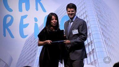 Copagaz recebe prêmio pelo Jornal Valor Econômico - Copagaz recebe prêmio pelo Jornal Valor Econômico.