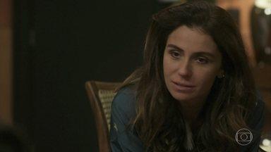 Alice aceita ficar com Mário mesmo com a gravidez de Carol - A bela se culpa por não ter assumido que amava o amigo antes