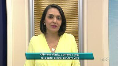 CAD garante vaga na próxima fase da Chave Ouro do Paranaense de Futsal - Equipe de Guarapuava goleou o rival Cascavel.
