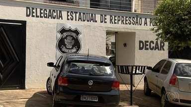 Polícia recupera carga avaliada em quade R$ 1 milhão, em Goiás - Três homens foram presos suspeitos do roubo em Uruaçu,