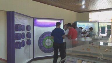 Exposição em Oiapoque mostra como vai ser a exploração de petróleo na costa do Amapá - Exposição em Oiapoque mostra como vai ser a exploração de petróleo na costa do Amapá.