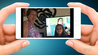 Telespectadores ajudam a chamar o intervalo no Paraná TV - Os vídeos são enviados para o telefone (45) 9951-5958.