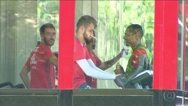 Zé Ricardo dá treino fechado para o Flamengo, que se prepara para enfrentar o Botafogo - Rubro-negro pode ter retorno de Everton para o clássico deste sábado.