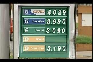 Preços de combustíveis são divulgados em Uberaba - Procon realizou pesquisa em 76 estabelecimentos. Valor médio da gasolina entre setembro e outubro variou em 0,26%.