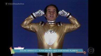 Vídeo Show relembra o 'Super Bronco', com Ronald Golias - Programa estreou em 1979