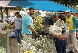 Dia de Finados movimenta comércio em Montes Claros - Muitas pessoas aproveitaram o dia de homenagens para conseguir uma renda extra.