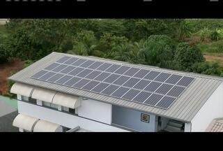 Energia solar é alternativa barata para economizar na conta de luz - Alternativa ajuda também na redução dos impactos ambientais.