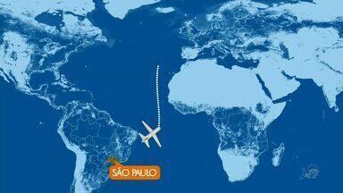 Avião faz pouso de emergência no Ceará - Uma mulher foi encaminhada para um hospital