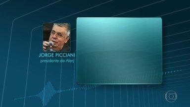 Presidente da Alerj apoia medidas anunciadas pelo Governo - Jorge Picciani prometeu empenho para aprovar pacote.