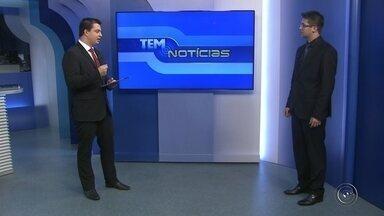 Advogado explica como funciona o pagamento de multas após o reajuste das infrações - O advogado Gabriel Moreira Ragazzi esclarece, em entrevista no estúdio da TV TEM, em Itapetininga (SP), como passou a funcionar o pagamento de multas após o reajuste no valor das cobranças das infrações no trânsito.
