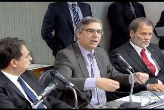 Advogados fazem defesa do governador Fernando Pimentel na Assembleia Legislativa de MG - Governador é acusado em suposto desvio de recursos públicos e investigado na operação Acrônimo.