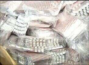 Polícia apreende mais de 30 mil comprimidos de anfetamina em Araguaína - Polícia apreende mais de 30 mil comprimidos de anfetamina em Araguaína