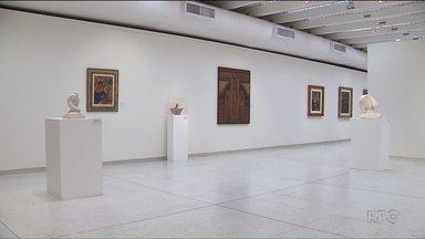 """Arte Moderna está exposta no museu Oscar Niemeyer, em Curitiba - A exposição é uma das dicas para aproveitar os dias de folga. Veja mais no nosso quadro """"Partiu fim de semana""""."""