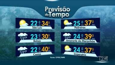 Veja a previsão do tempo para esta sexta-feira (11) no Maranhão - O final de semana está chegando e a previsão ainda é de tempo firme e temperaturas elevadas.