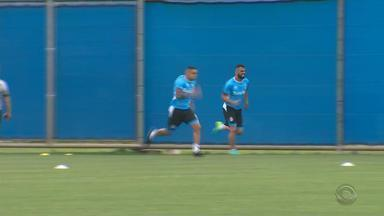 Grêmio faz treino físico e grupo só volta a treinar na segunda (14) - Renato foi liberado pela diretoria por conta do tipo de treino feito nesta sexta-feira.