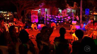 Atores fazem recital de cordel contados a partir da dança - A apresentação aconteceu no Centro de Petrolina.