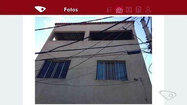 Emaranhado de fios chama a atenção de moradores em Vitória - Ana Carolina Ferreira registrou a situação no bairro São Cristóvão.