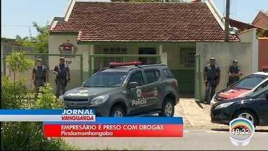 Homem de 25 anos é preso em operação contra o tráfico em Pinda - Polícia cumpriu três mandados de busca na cidade, no bairros das Campinas