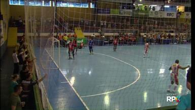 Cascavel e Ponta Grossa se enfrentam pelas quartas-de-final do Paranaense de Futsal - As equipes já se enfrentaram duas vezes, com uma derrota e um empate para o time da Serpente que busca recuperar esses placares