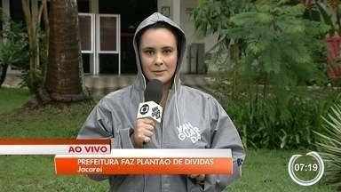 Prefeitura de Jacareí faz plantão para renegociar impostos atrasados - Ideia é renegociar dívidas atrasadas de moradores