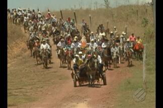 Em Paragominas, uma cavalgada movimentou a cidade - O evento faz parte da programação do Círio de Nossa Senhora de Nazaré.