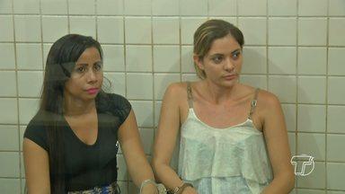 Três mulheres de Alenquer são presas por tráfico de drogas em Santarém - Suspeitas foram localizadas em uma casa do bairro Diamantino.