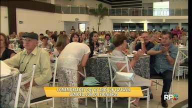 Almoço dos pioneiros reúne aproximadamente mil convidados - O almoço é uma homenagem aos primeiros moradores da cidade.