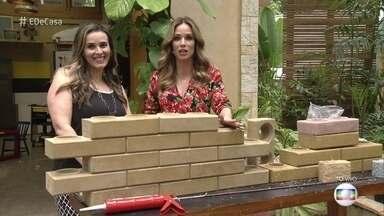 Tijolos ecológicos deixam a construção mais barata e mais ágil - No entanto, a alternativa de tijolo ecológico exige alguns cuidados para evitar problemas durante a obra e também depois