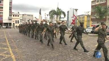 Exército comemora o Dia da Bandeira em Salvador - A data é celebrada neste sábado (19).