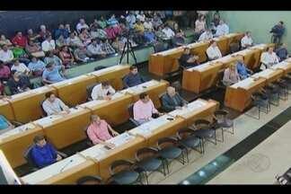 Câmara Municipal de Uberlândia realiza encontro para vereadores eleitos pela primeira vez - Objetivo é para mostrar funcionamento dos processos legislativos. Ao todo, 13 cadeiras serão assumidas por novos vereadores.
