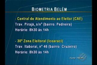 TRE inicia agendamento para a biometria de eleitores de Belém - O agendamento é feito de graça pela internet, no site do TRE, para o atendimento em quatro pontos da capital. A expectativa do tre é cadastrar mais de 500 pessoas por dia.