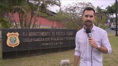Homem é preso em Joinville em operação da Polícia Federal contra a pedofilia - Homem é preso em Joinville em operação da Polícia Federal contra a pedofilia