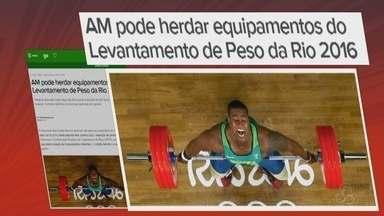 Amazonas pode herdar equipamentos do Levantamento de Peso da Rio 2016 - Tratativa assinada nesta segunda-feira prevê a doação de oito tipos diferentes de material. Contrato definitivo só deve ser assinado em janeiro.