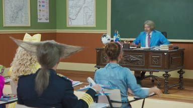 Episódio 7 - Seu Boneco (Marcius Melhem) resolveu aprontar mais uma de suas peripécias. Dessa vez, o aluno da Escolinha aparece na turma com um boneco ventríloquo.