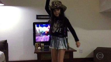 Criançada manda vídeos para o site do Domingão! - Confira as crianças dançando ao ritmo do Country