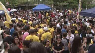 Vestibular da Fuvest 2017 atrai mais de 2 mil estudantes na região - O domingo (27) foi de ansiedade para muitos jovens.