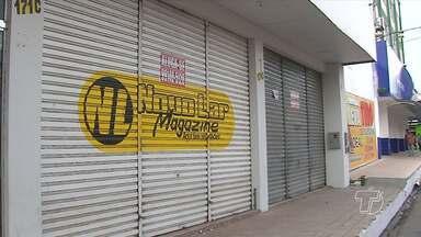 Mais de 60 lojas do comércio fecharam as portas em meio a crise em Santarém - As projeções para o fim do ano são desanimadoras.