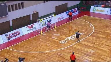 Marechal permite virada e perde vaga na final da Liga Nacional de Futsal - Sorocaca venceu por 2 a 1, levou a partida para a prorrogação e venceu os paranaenses na decisão por pênaltis