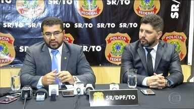 Governador do Tocantins é alvo da operação Reis do Gado, da PF - PF levou Miranda para prestar depoimento sob condução coercitiva. Ele é suspeito de pertencer a quadrilha que usava fazendas para lavar dinheiro.