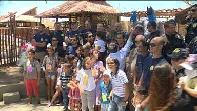 PRF faz ação de solidariedade para crianças com câncer - Iniciativa aconteceu em Campina Grande