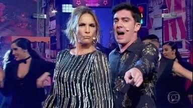 Marcelo Adnet recebe Ivete Sangalo com musical - Apresentador relembra os convidados da primeira temporada do programa