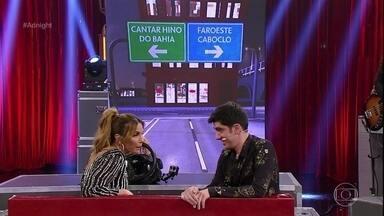 Ivete Sangalo anda de carro velho no Adnight - Cantora responde questões inusitadas propostas por Marcelo Adnet