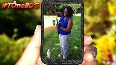 Telespectadores mandam fotos para o quadro 'Tô no BDG' - Eles mandam mensagens de várias partes do estado.