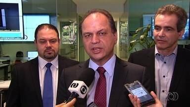 Ministro da Saúde visita central de dados do SUS em Goiânia - Ele pretende levar tecnologia para outras cidades do país.