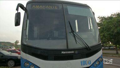 PRF prende homerm com mais de 10 mandados de prisão em Imperatriz - Ele era motorista de um ônibus que faz transporte de passageiros entre municípios da região.